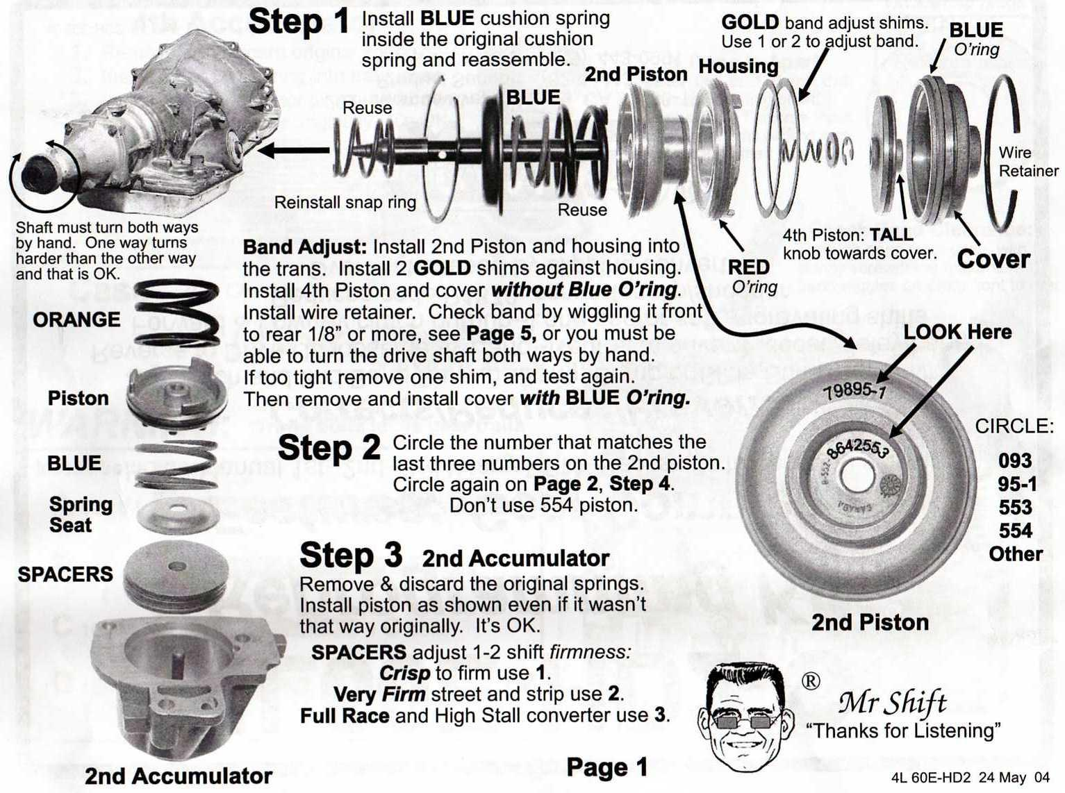 4l60e Transmission Pictures Th350 Wiring Diagram Transgo Shift Kit Instructions Page 1